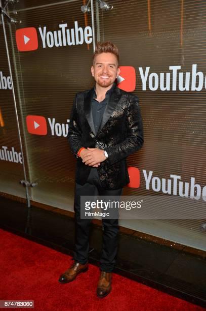 El Dasa at YouTube Musica sin fronteras A Celebration of Latin Music at Jewel Nightclub at the Aria Resort Casino on November 15 2017 in Las Vegas...