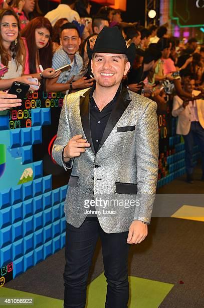 El Dasa attends Univision's Premios Juventud 2015 at Bank United Center on July 16 2015 in Miami Florida