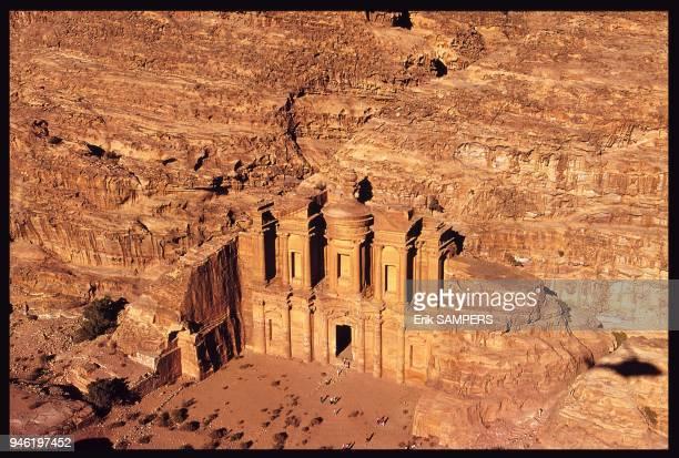 El Deir Petra Jordanie
