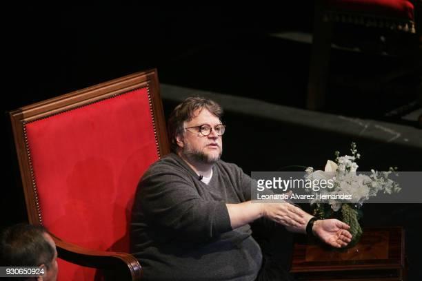 El director Mexicano ganador de premio Oscar en la reciente edición de los premios otorgados por la Academia de Cinematografía Guillermo Del Toro...