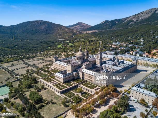el escorial monastery - monastery stock pictures, royalty-free photos & images