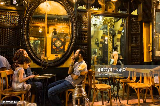 El Fishawy coffe house in Cairo