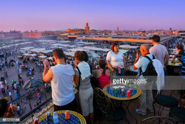 el fna square, marrakech - hot women pics stock pictures, royalty-free photos & images