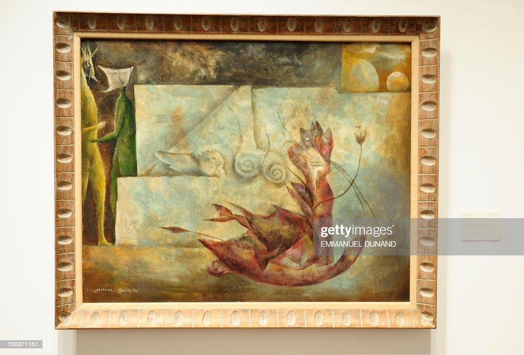"""""""El gato"""" by Leonora Carrington is on di : News Photo"""