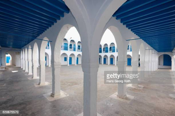 el ghriba synagogue, court - djerba stock pictures, royalty-free photos & images