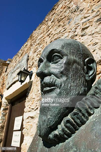 El Greco House and Museum with Bust of El Greco