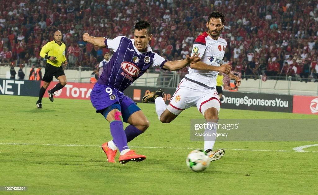 WAC Casablanca vs Es Setif: CAF Champions League : News Photo