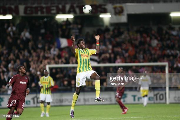El hadji papy mison DJILOBODJI Metz / Nantes 6eme journee de Ligue 2
