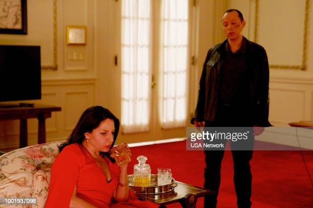 """El Juicio"""" Episode 305 -- Pictured: Veronica Falcon as Camila --"""
