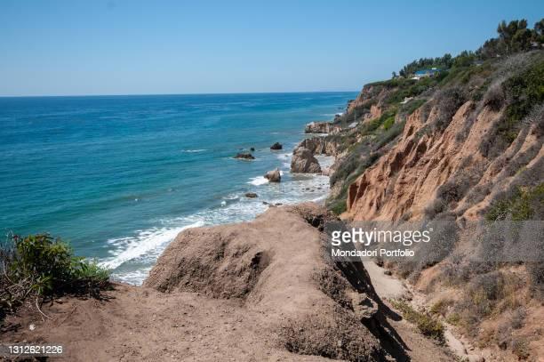 El Matador Beach in California. Los Angeles , September 17th, 2015