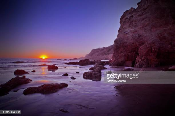 el matador state beach, malibu, los angeles county, california - malibu beach stock pictures, royalty-free photos & images