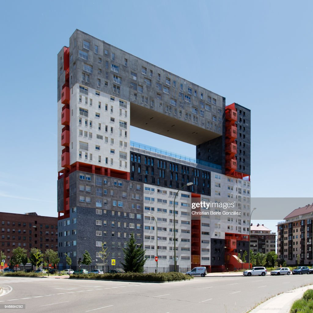 El Mirador de Sanchinarro, Madrid : Bildbanksbilder