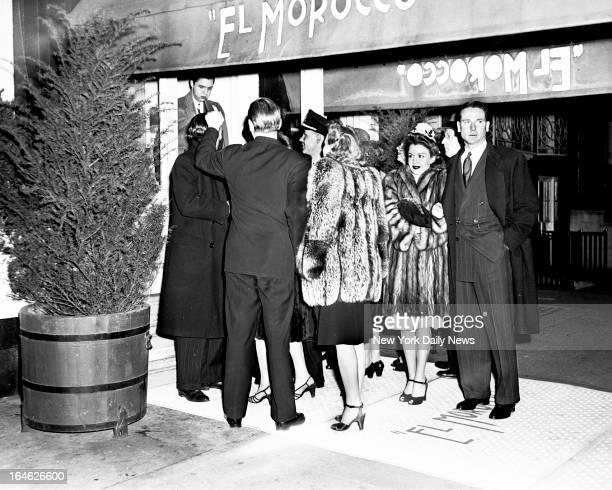 El Morocco Night Club at East 52nd Street