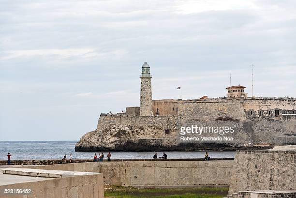 El Morro fortress and the Malecon sea wall Both are tourists attractions in the Cuban capital