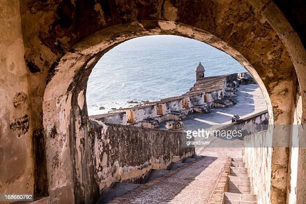 el morro fortress, puerto rico - puerto rico stock pictures, royalty-free photos & images