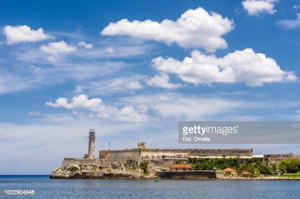 El Morro Spanish fortress with lighthouse in Havana. Cuba