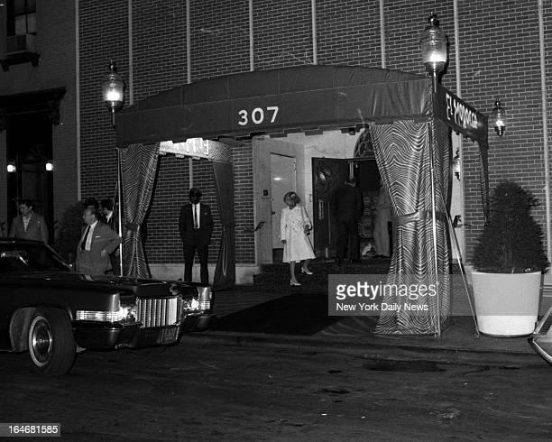 El Morroco closing night at 307 E 54St Outside of the El Morroco taken on its closing night Hy Rothman/NY Daily News via Getty Images