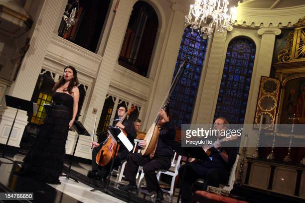 El Mundo performing at Corpus Christi Church on Sunday afternoon October 14 2012The program is titled The Kingdoms of Castille Soanish Italian and...