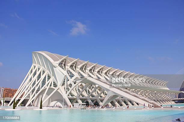 CONTENT] El Museu de les Ciències Príncipe Felipe is an interactive museum of science that resembles the skeleton of a whale It's in the City of Arts...