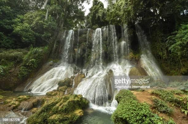 El Nicho waterfalls, Topes de Collantes Natural Park, Cienfuegos, Cuba
