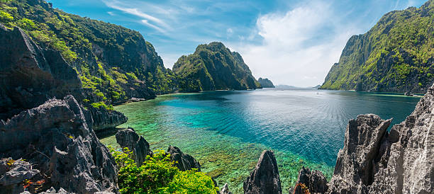 el nido, philippines - horizontal stock pictures, royalty-free photos & images