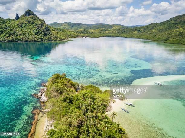 El Nido Vigan Island - Snake Island Sandbar Palawan Philippines