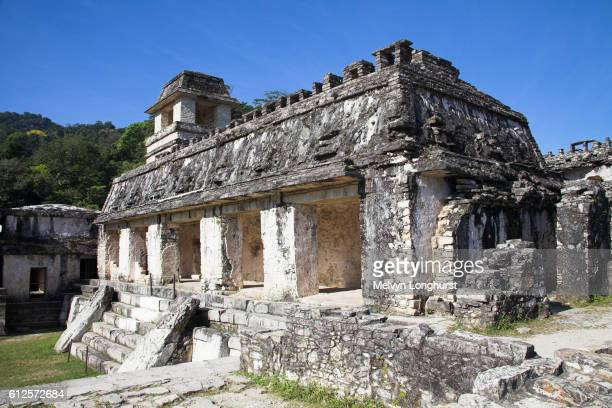 El Palacio, The Palace, Palenque Archaeological Site, Palenque, Chiapas, Mexico