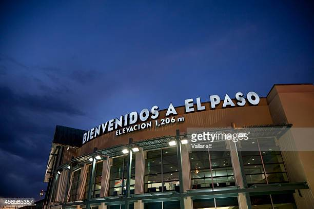 El Paso International Airport Sign
