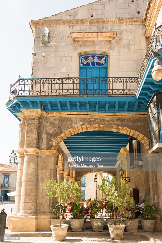 El Patio restaurant in the Cathedral Plaza seen from the... Pictures ...