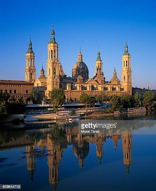 El Pilar Basilica in Zaragoza