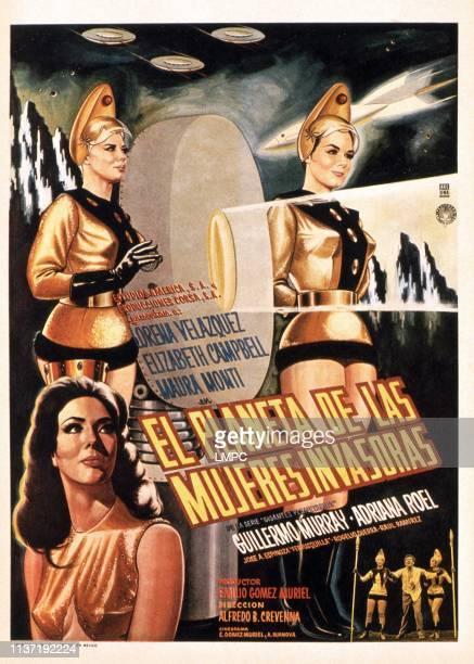 El Planeta De Las Mujeres Invasoras poster Lorena Velazquez 1967