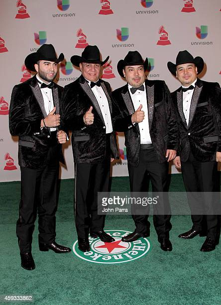El Poder del Norte attend the 15th annual Latin GRAMMY Awards at the MGM Grand Garden Arena on November 20 2014 in Las Vegas Nevada