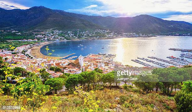el port de la selva - costa brava (spain) - catalonia stock pictures, royalty-free photos & images