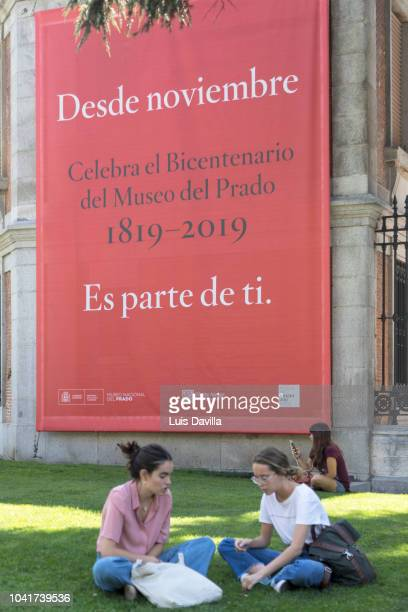 el prado museum. madrid. spain - 200周年 ストックフォトと画像