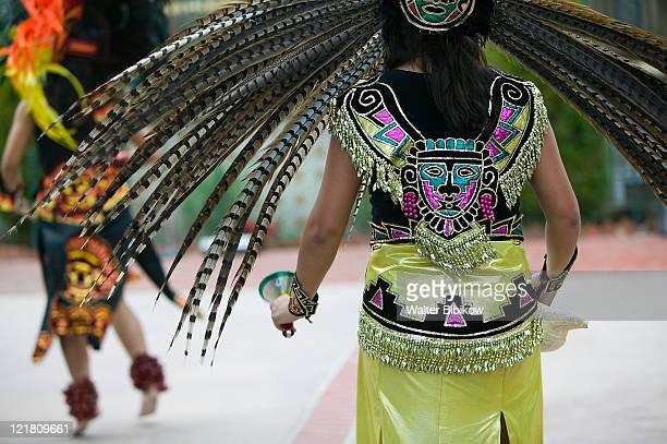 El Pueblo de Los Angeles, Aztec Indian performance