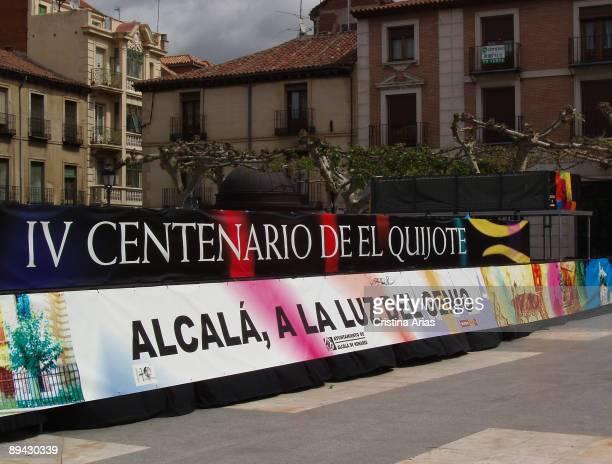 El Quijote IV Centennial Commemorative acts in Alcala de Henares Miguel de Cervantes birth´s place