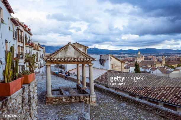 el realejo district, granada - dafos stock photos and pictures