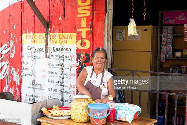 El Salvadorian woman