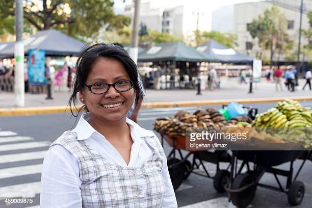 El Salvadorian young woman portrait