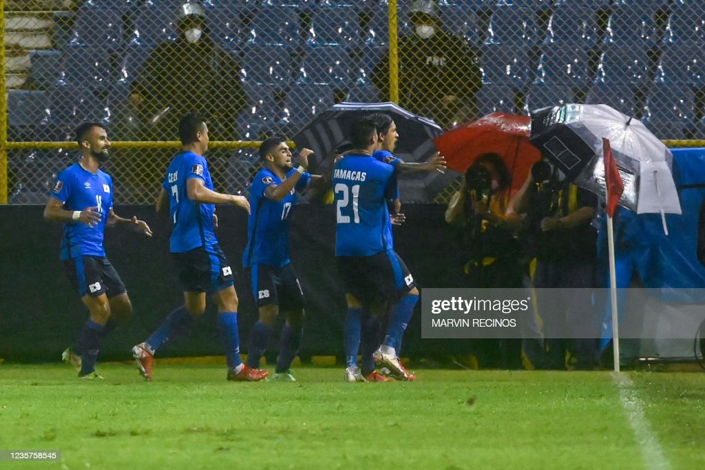 FBL-WC-2022-CONCACAF-QUALIFIERS-SLV-PAN : News Photo