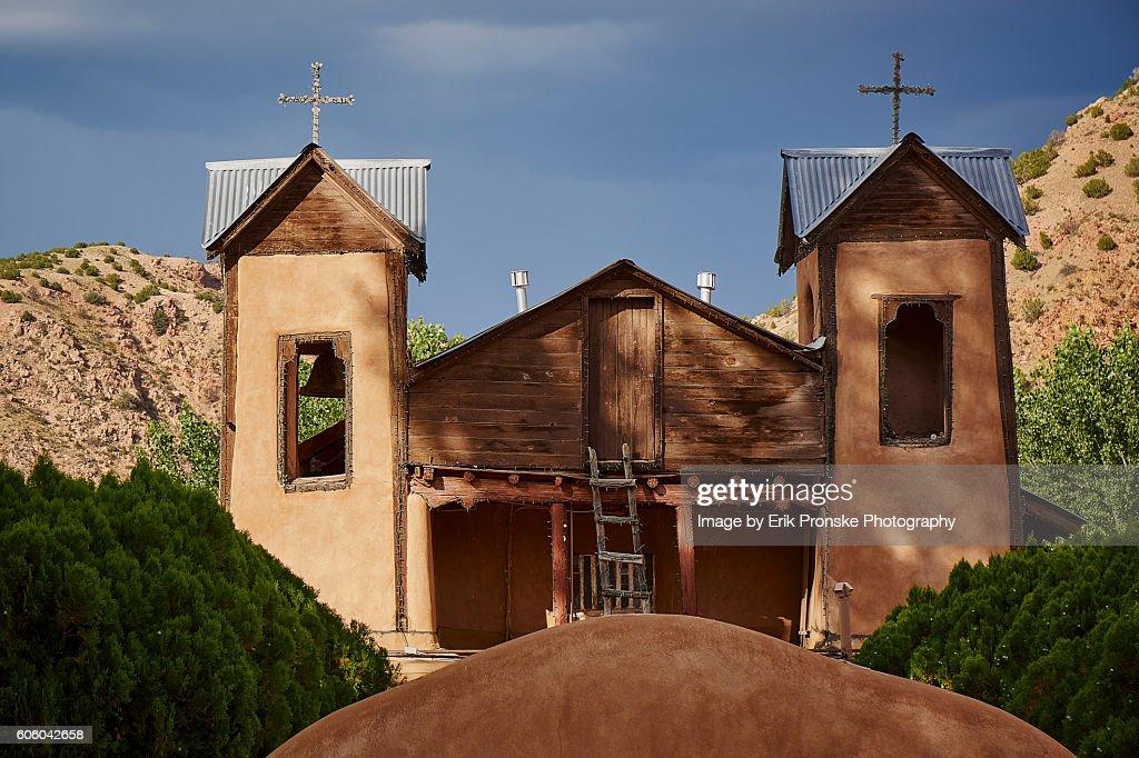 El Santuario de Chimayó : Stock Photo