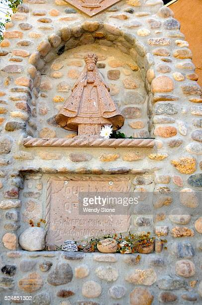 El Santuario de Chimayo is a Roman Catholic church built in the early 1800's This shrine a National Historic Landmark is famous for the story of its...