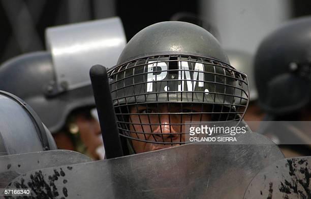 El Sexto Escuadron de Reserva para la Seguridad Ciudadana formado por ex miembros del Ejercito de Guatemala es presentado a la sociedad en Ciudad de...