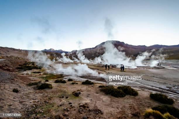 el tatio geyser - cielo stock pictures, royalty-free photos & images