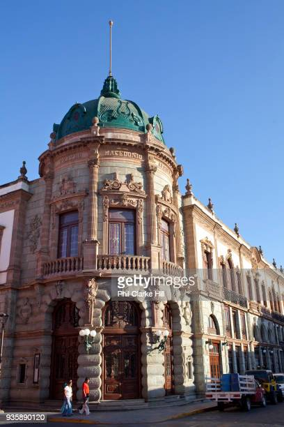 El Teatro Macedonio Alcalá in Oaxaca City Mexico Oaxaca is known throughout Mexico and internationally for it's cultural and artistic heritage and is...