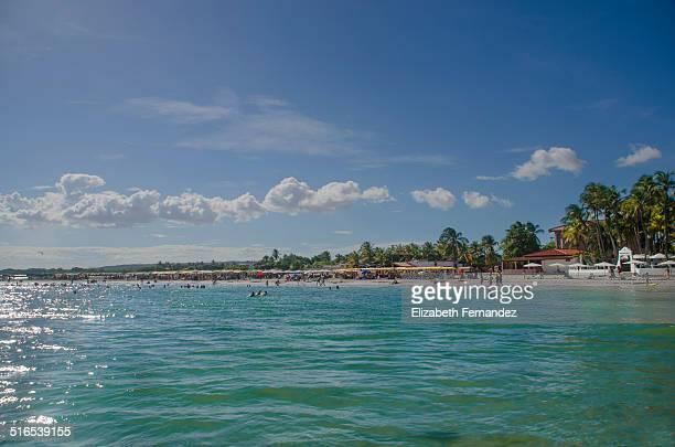 el yaque beach. margarita island. - margarita beach stock photos and pictures