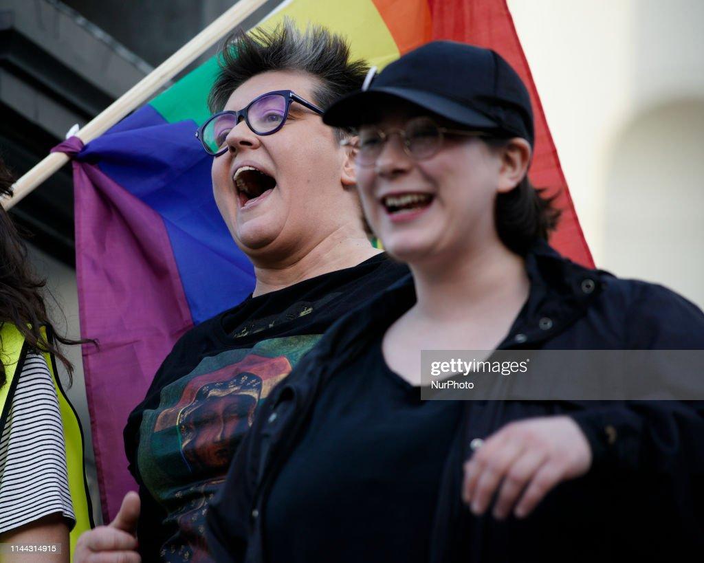 POL: International Day Against Homophobia In Warsaw