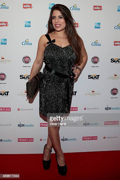 Ela Tas poses during the event 'Movie Meets Media' at Hotel Atlantic on December 1 2014 in Hamburg Germany