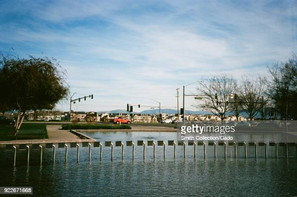 Elaborate fountain in Emerald Park the main public park in Dublin California February 2018 According to 2014 data Dublin is among the top three...
