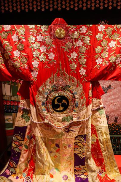 Elaborate Kabuki Kimono Kabuki Is A Traditional Japanese